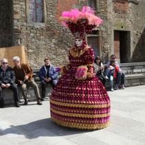 CASTIGLION FIBOCCHI miasto na karnawał w Toskanii
