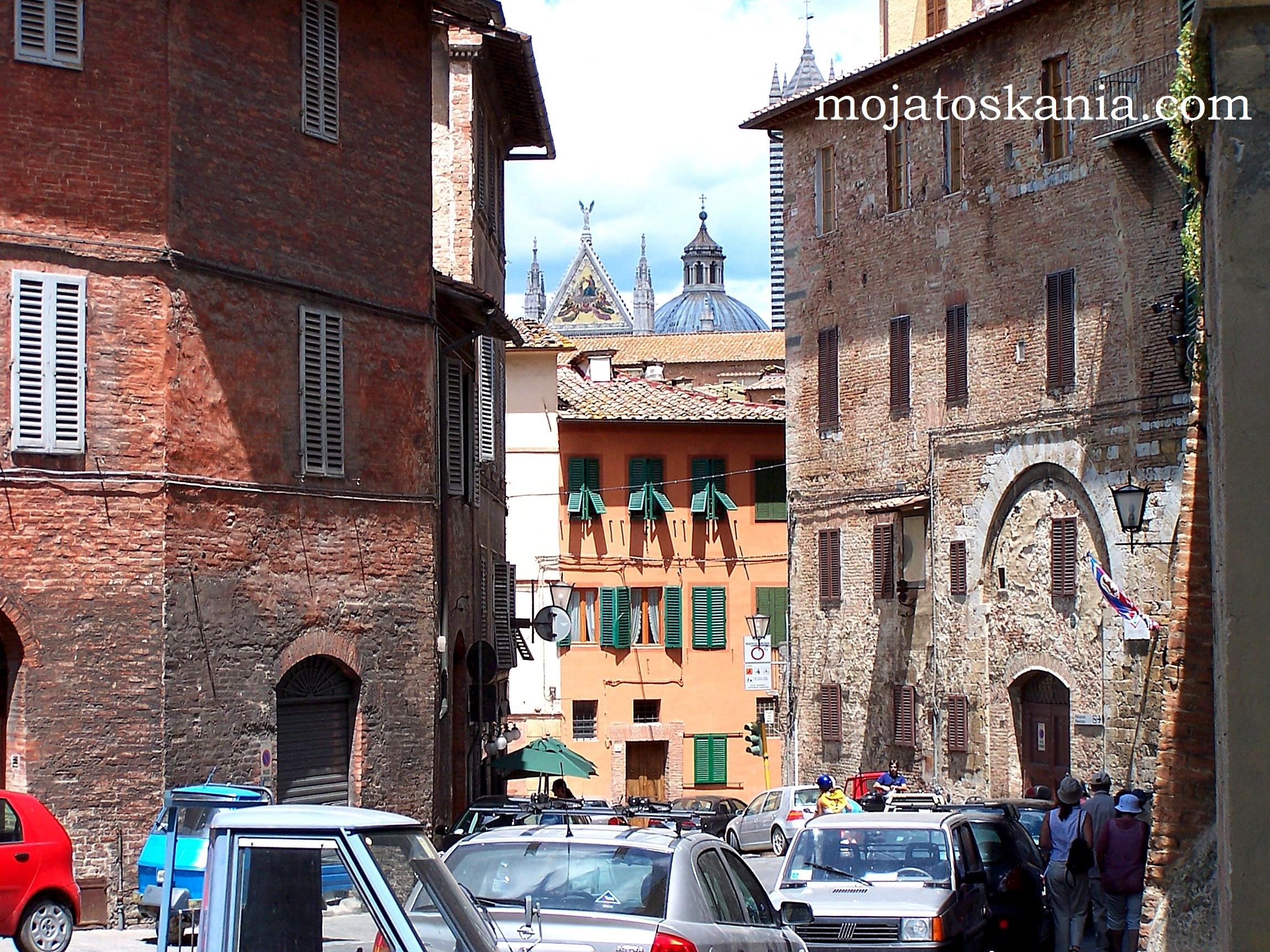 ikona Duomo z ulicy Sieny