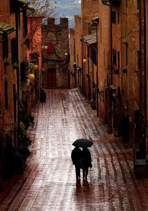 uliczka certaldo