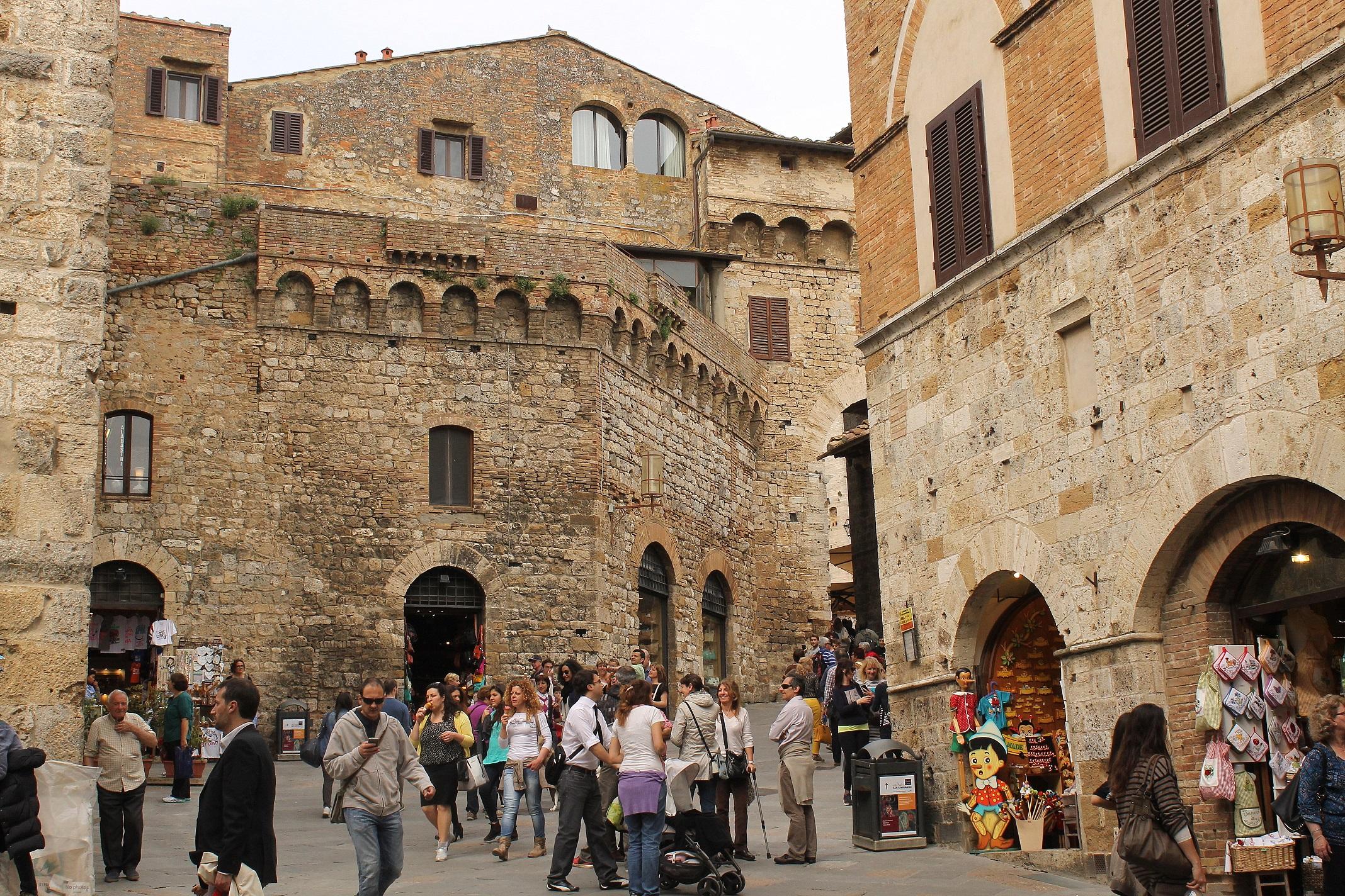 Spotkanie w San Gimignano