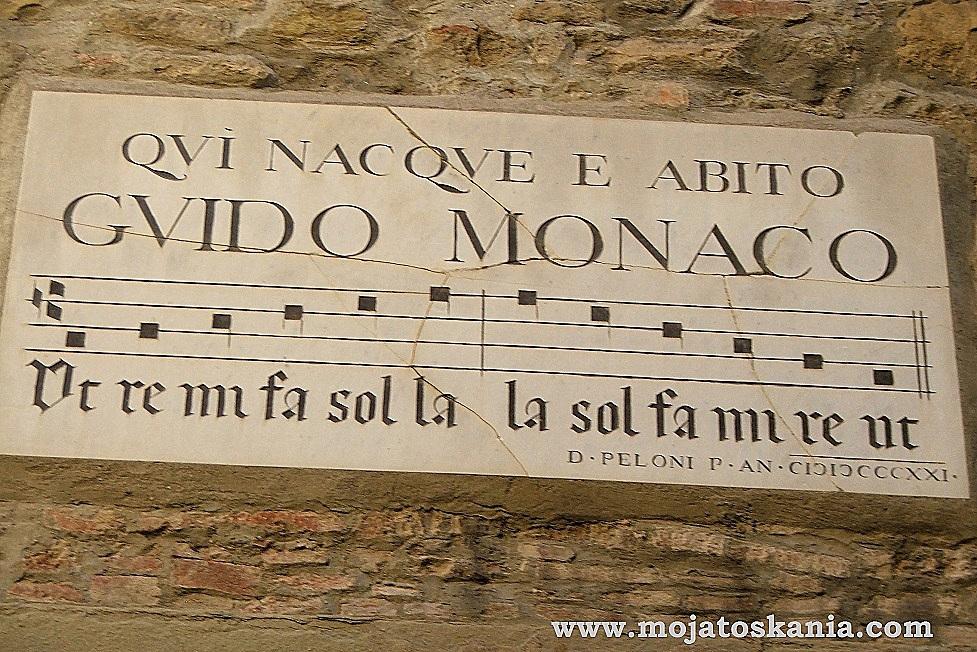 Guido Monaco tablica