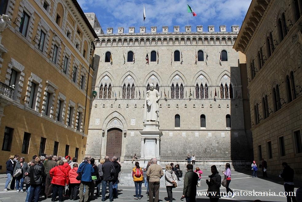 ikona Siena w sloncu