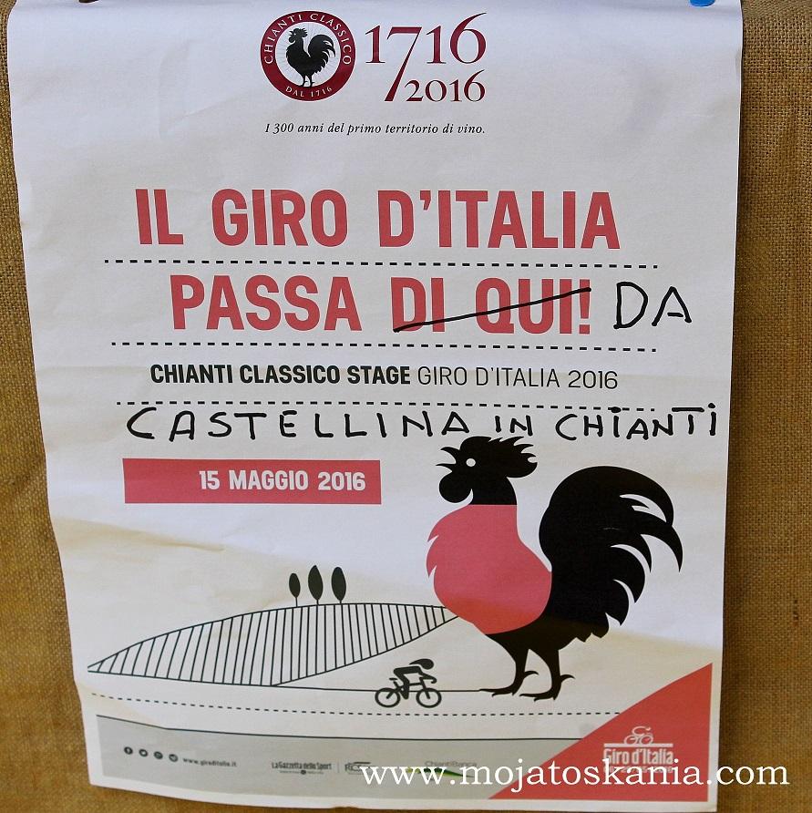 plakat GIRO D ITALIA