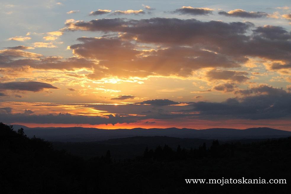 Rapale tramonto