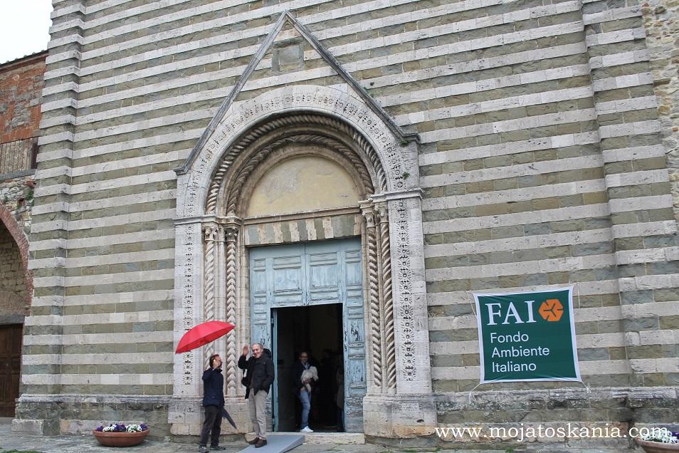 Lucignano, Giornate FAI di Primavera Chiesa di San Francesco, saluti