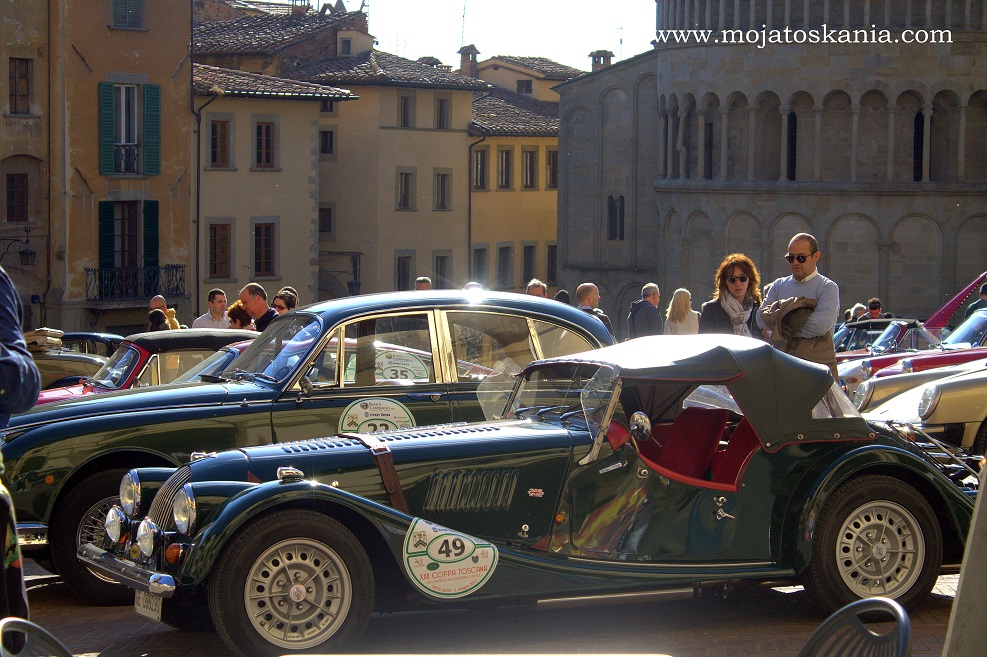 1 Arezzo mostra auto di epoca