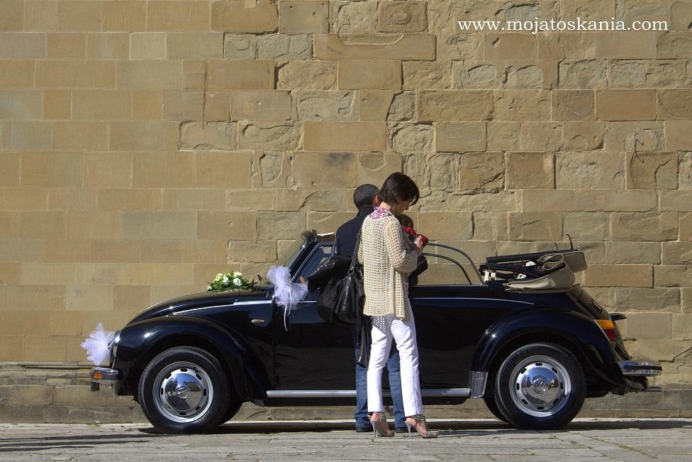 4 Arezzo vehicolo degli sposi