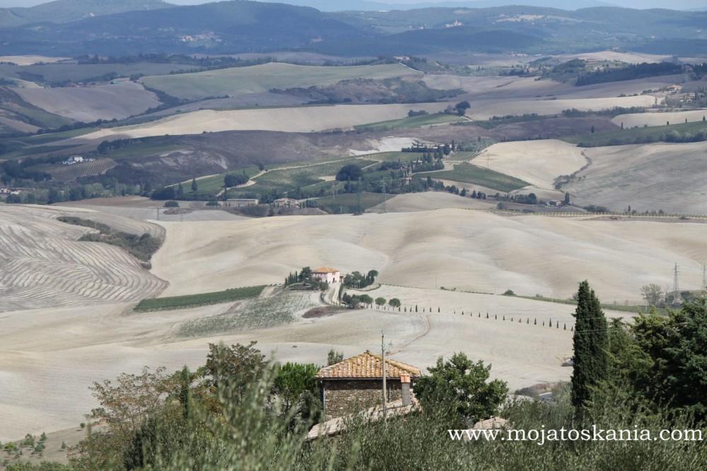 6 Niebieskosci widok z Montalcino