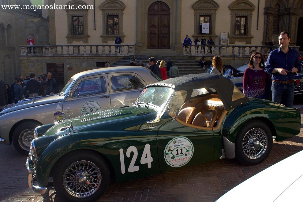 7 Arezzo auto di epoca