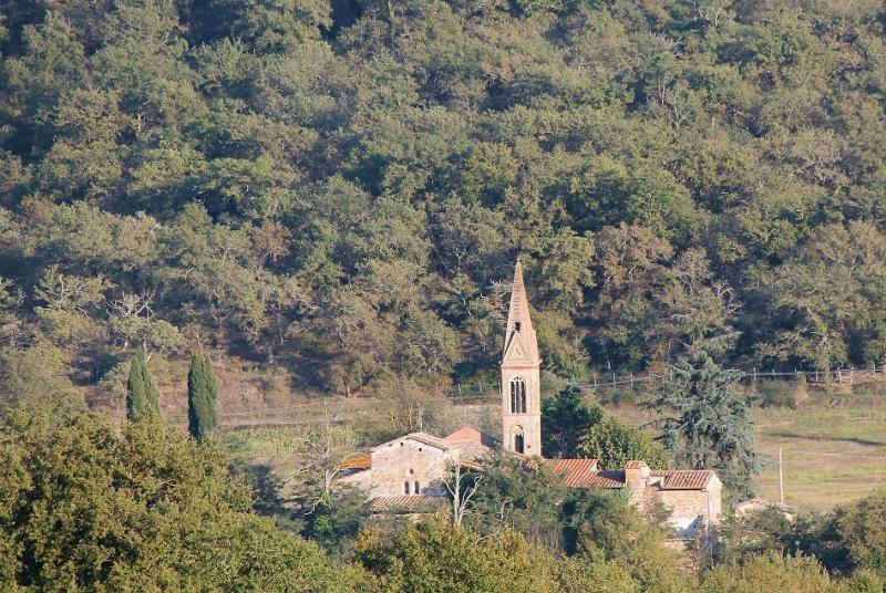 Chiesa Capannole jesienne