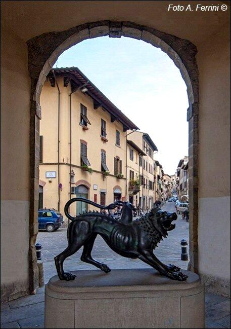chimera copia ad Arezzo