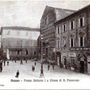Turystyczne złote Arezzo