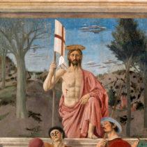 """""""Zmartwychwstanie"""" Piero della Francesca"""